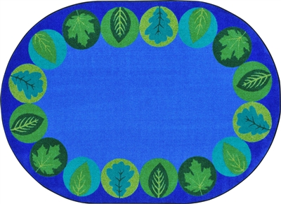 Lively Leaves Rug - JCX1959XX - RTR Kids Rugs
