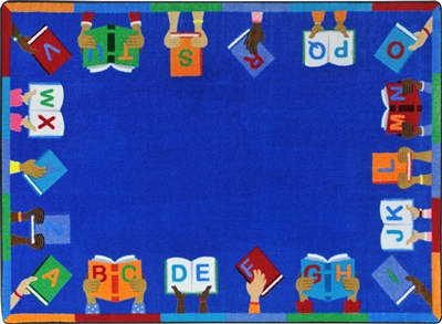 Books Are Handy Rug - JCX1963XX - RTR Kids Rugs