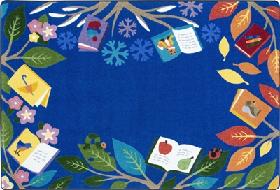 Books for All Seasons Rug - JCX2020XX - RTR Kids Rugs