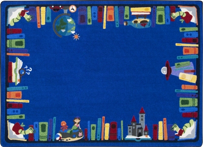 Discovery Books Rug - JCX2026XX - RTR Kids Rugs