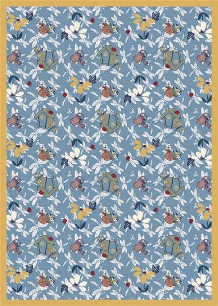 Flower Garden Wall To Wall Carpet 13 6 Quot Jc438wxx Joy