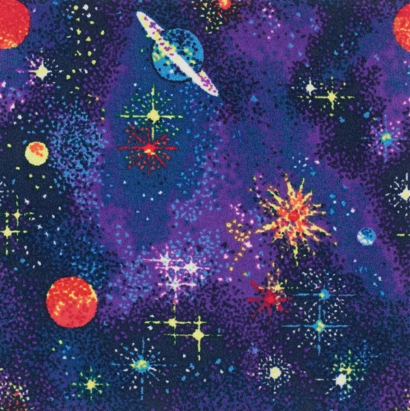 Space Explorer Fluorescent Wall To Wall Carpet 12 Jc43w