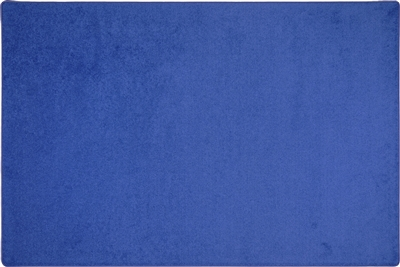 Endurance Solid Color Rug - Royal Blue