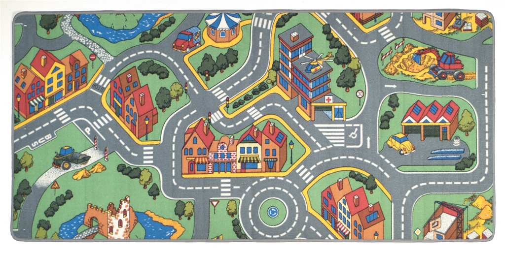 My Neighborhood Play Rug Rectangle 36 Quot X 80 Quot Lc144
