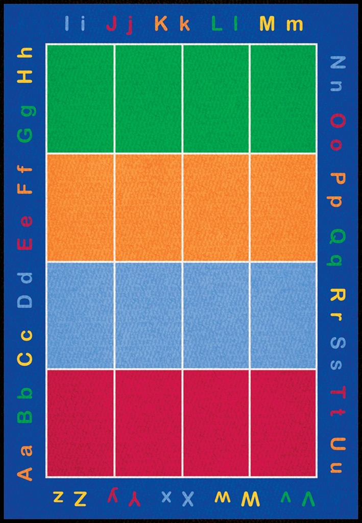 Abc Squares Rug Lccpr483xx Learning Carpets